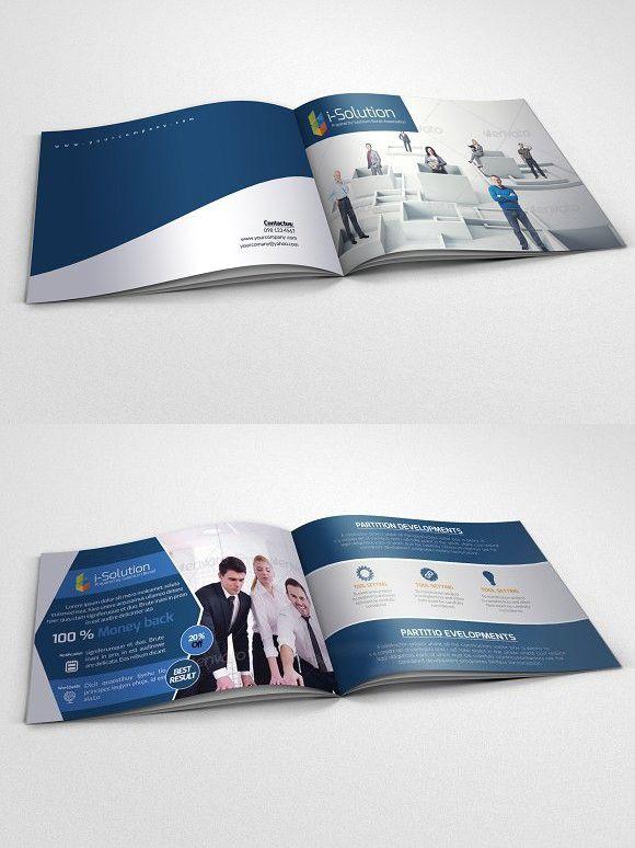 4 Pages Business Bi Fold Brochure Bi Fold Brochure Business Cards Creative Templates Business Cards Creative