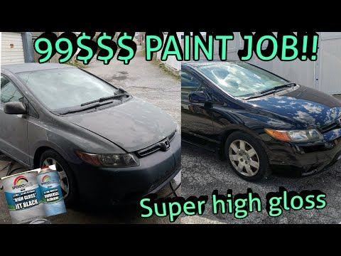 BEST 100$ PAINT JOB SINGLE STAGE - YouTube