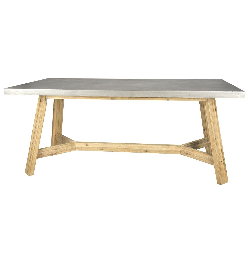 Ajax Concrete Dining Table   Matt Blatt   180x75x90   $995
