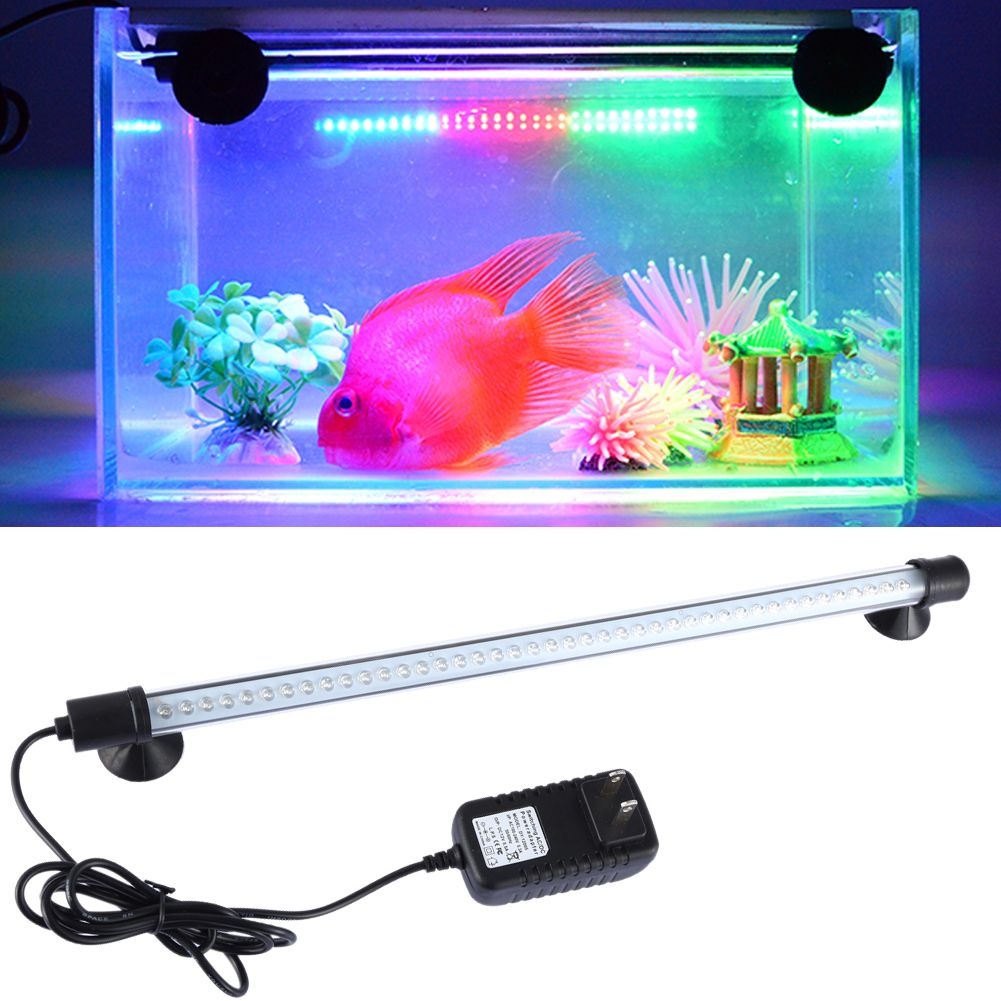 Click to buy high quality aquarium fish tank led decor light click to buy high quality aquarium fish tank led decor light waterproof 182838cm submersible light strip lamp drop shipping affiliate mozeypictures Choice Image
