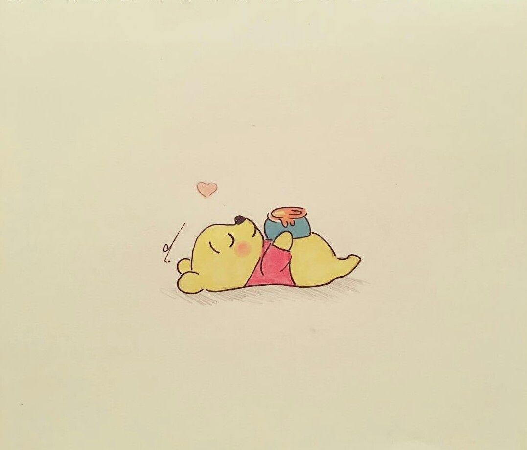 Winnie The Pooh With Images Cute Disney Wallpaper Cartoon