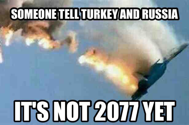 It's not 2077 yet.