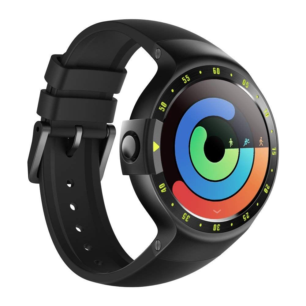 Android Wear ticwatch e most comfortable smartwatch-shadow,1.4 inch oled