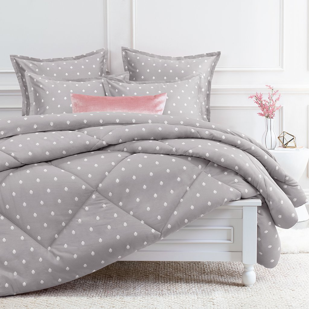 Flora Grey Comforter Twin Twin Xl All Year Grey Comforter Goose