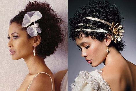 Natural curly hair accessories