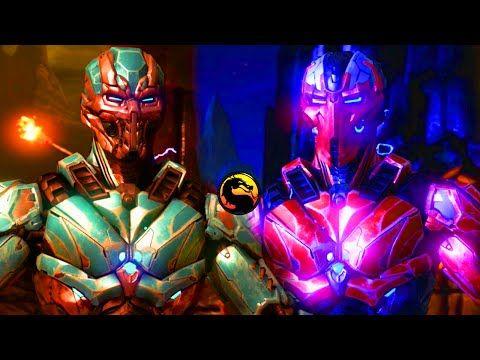 CYBER SUB ZERO VS SEKTOR! - Mortal Kombat X Triborg