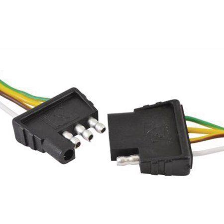 Attwood Wiring Harness Connector 4 Way Flat 18 Plug And 48 Socket Walmart Com Sockets Harness Plugs
