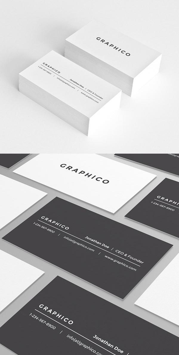 Simple Personal Business Card 30 Business Card Design Simple Business Card Design Minimal Business Card Design Minimalist