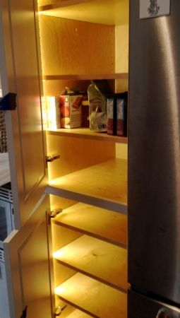 Lights In The Pantry New Kitchen Designs Diy Home Improvement