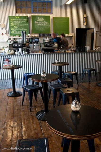 Too Much Corrugated Iron Toby S Estate Barra De Bar Mueble Bar Fachadas De Tiendas