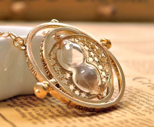 Harry Potter Timer Turner Necklace (just like the one Hermione uses in the movie) - $12