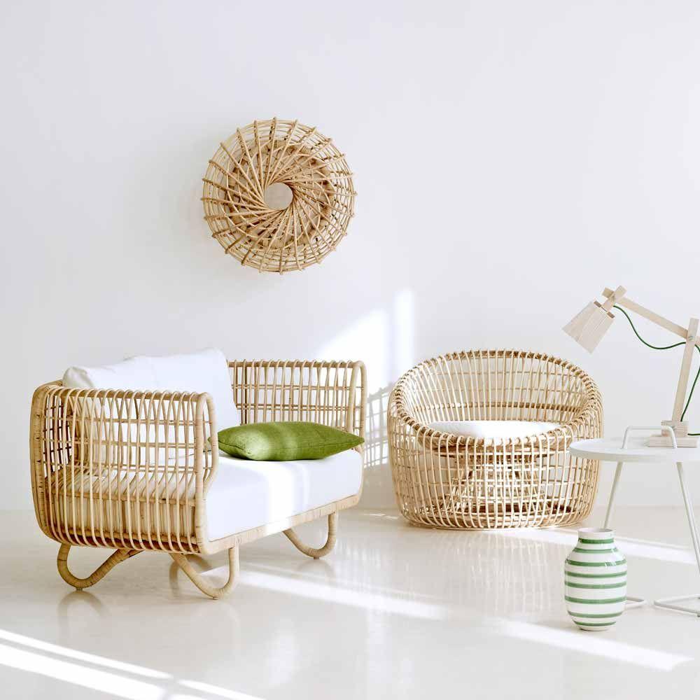 cane line rattan sessel nest lounge natur maritime. Black Bedroom Furniture Sets. Home Design Ideas