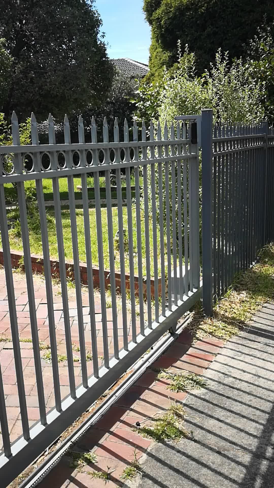 Picket Fence Gate. G3015s Sliding Gate Design Spear
