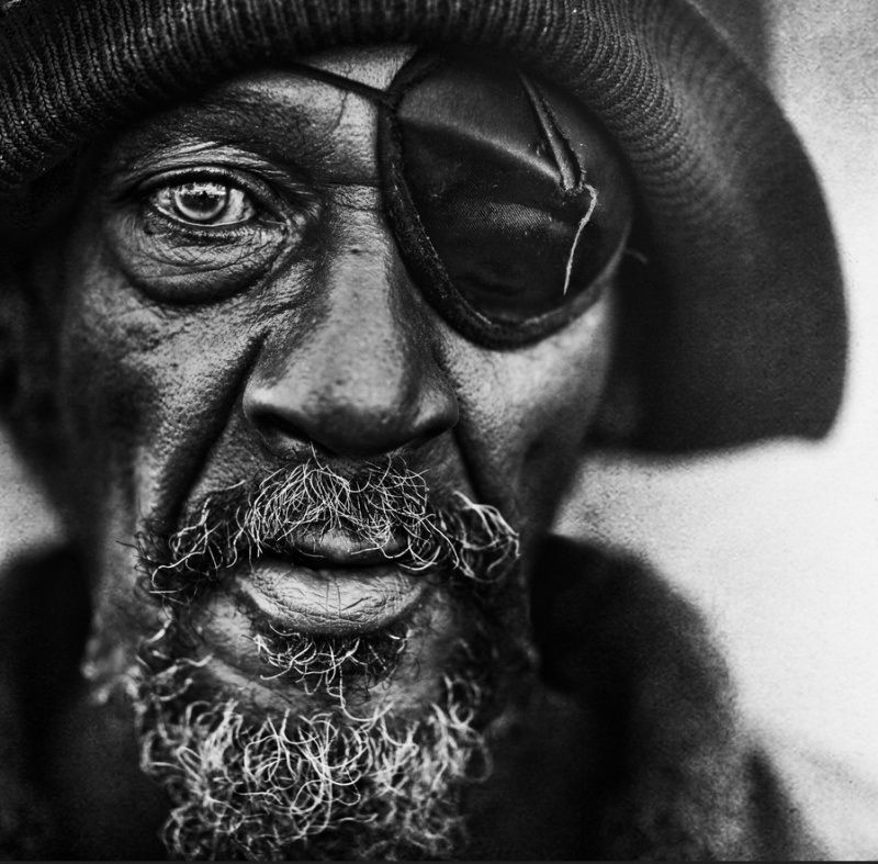Homeless People Portraits Photography By Lee Jeffries: Visage, Lee Jeffries, Photographie