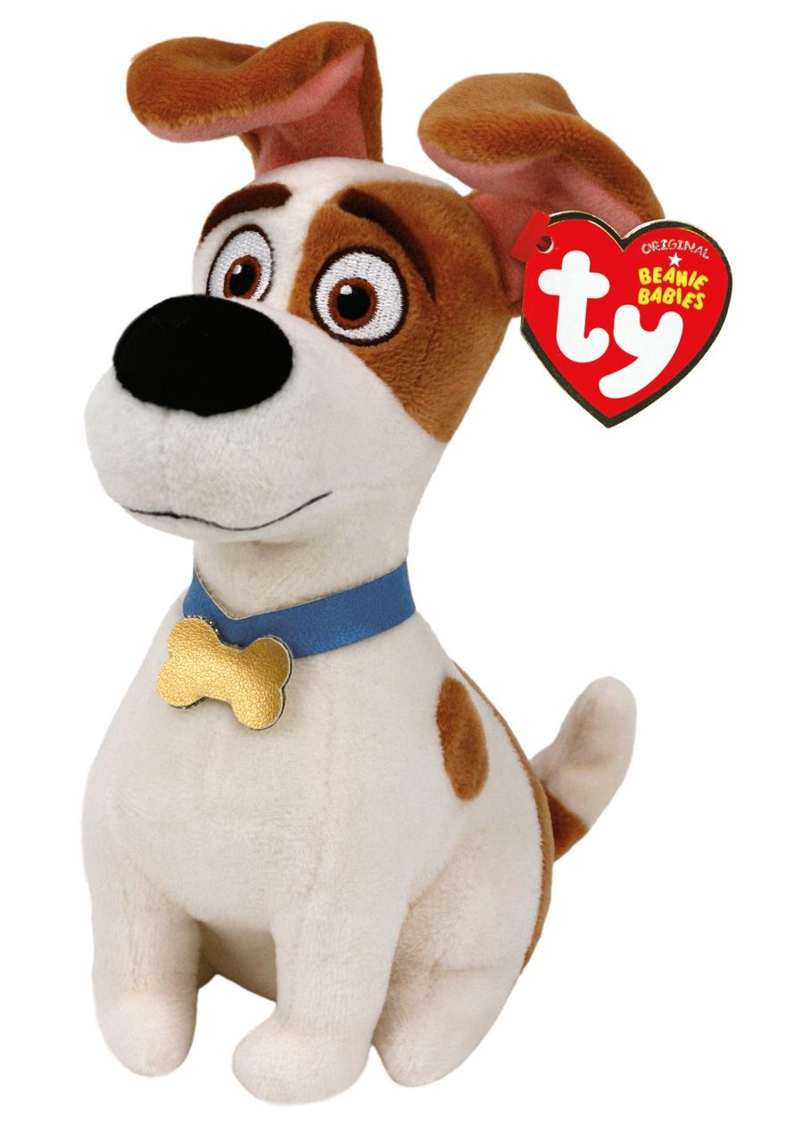 The Secret Life Of Pets Max 6 Inch Beanie Baby Original Price