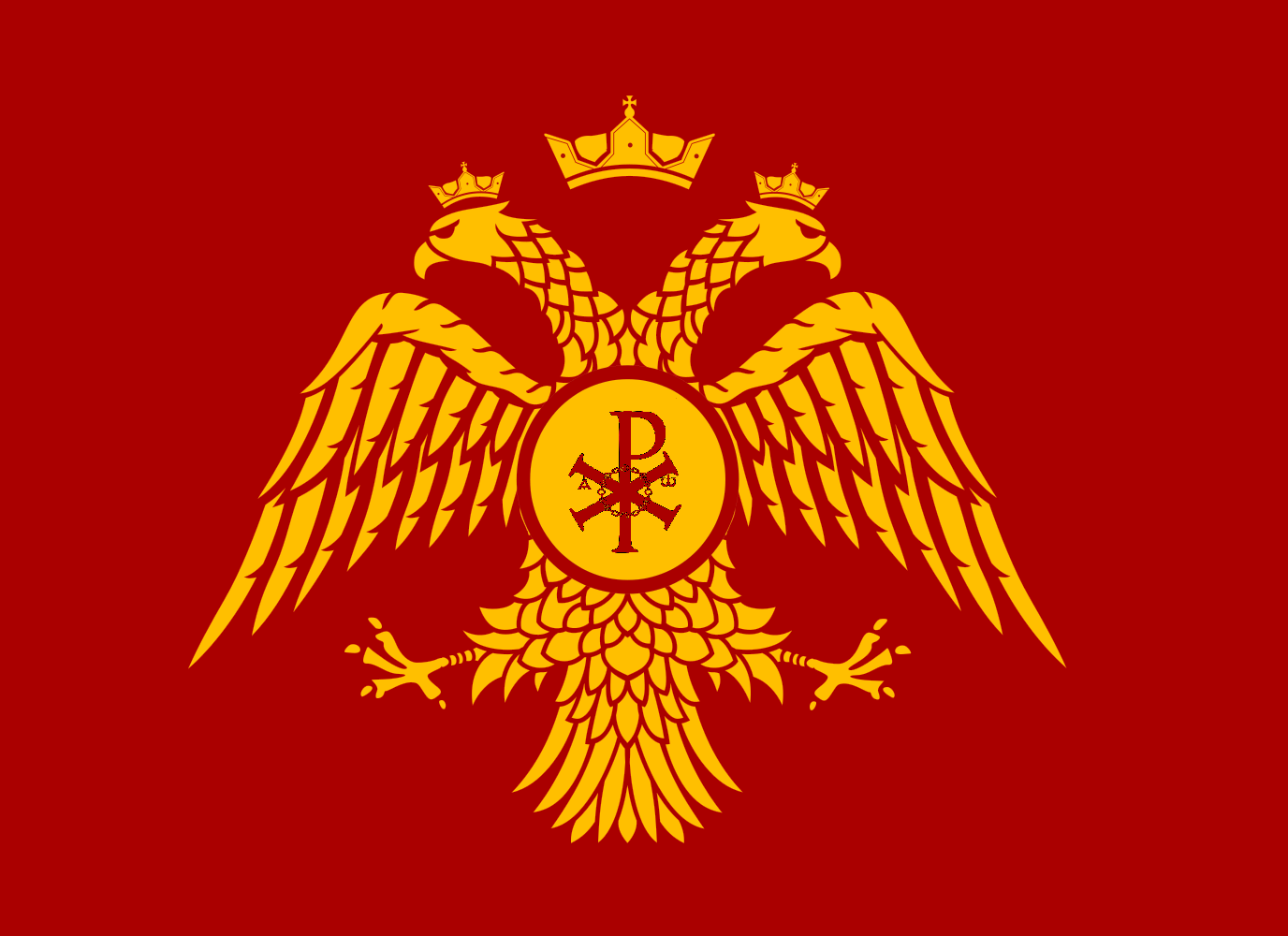 flag of the orthodox chuch of byzantine empire flags and