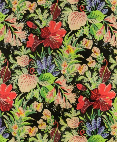 zijperspace:  'Fleurs et Papillons' - Raoul Dufy.