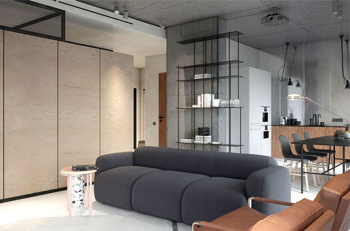 Pp4 apartment by kdva architects interiorzine