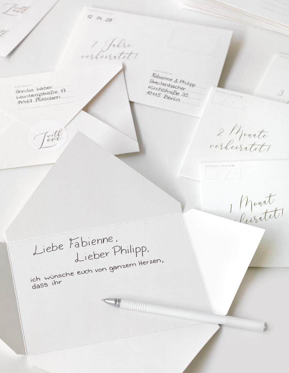 Briefe In Die Zukunft Als Zeitkapsel Gastebuch Oder Hochzeitsspiel Geschenke Brautpaar Hochzeitsbriefe Gastebuch Hochzeit