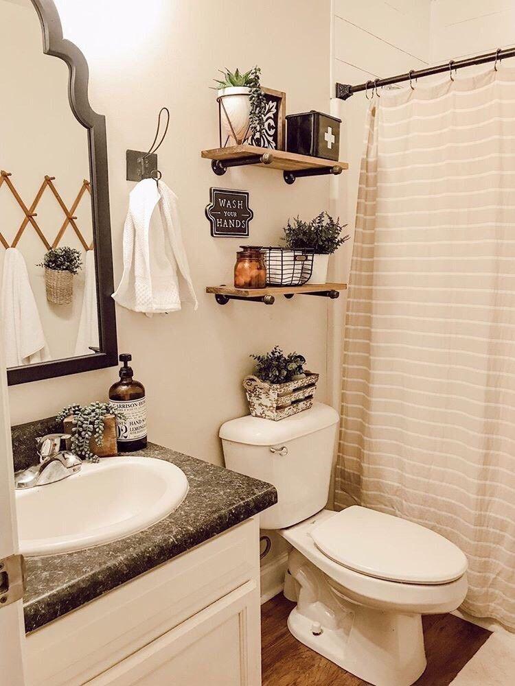 Farmhouse Bathroom Decor Restroom Sets