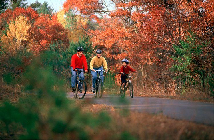 Paul Bunyan Bike Trail In Nisswa Mn Exploremn Photo By Explore