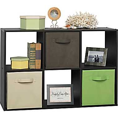 ClosetMaid® Cubeicals® 6 Cube Storage Organizer, Espresso