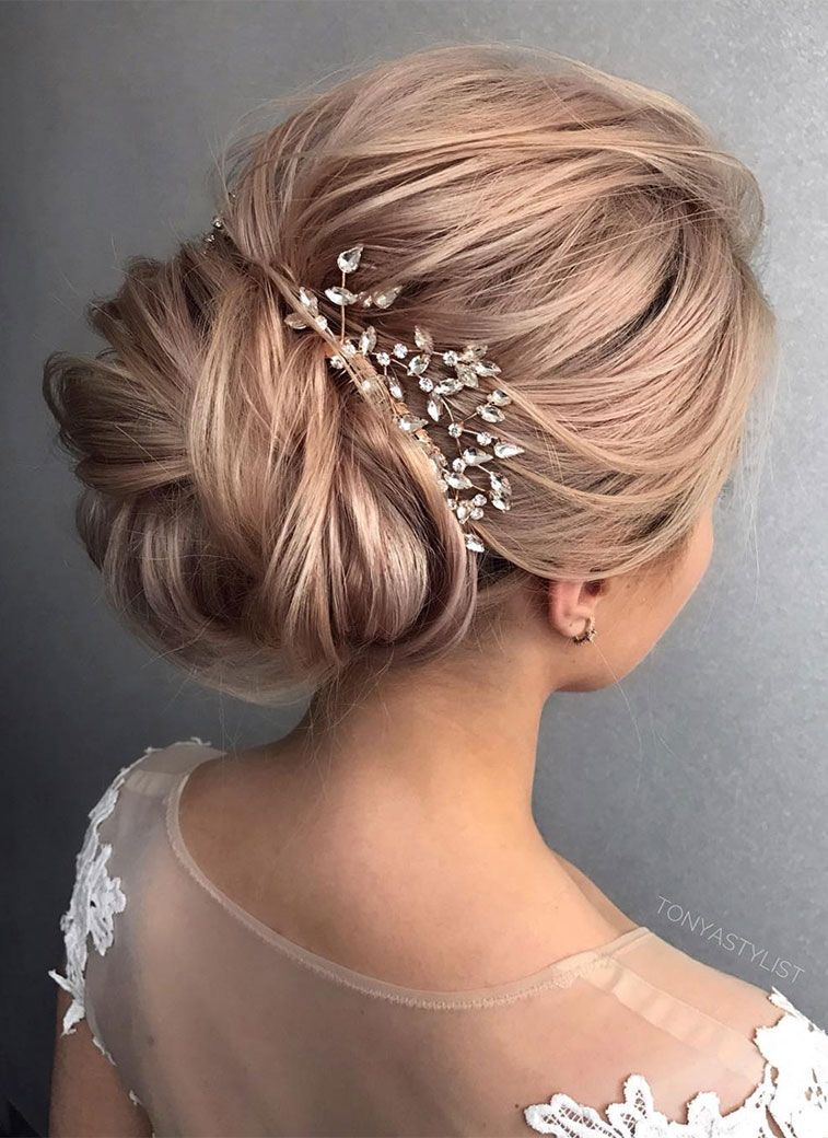 Gorgeous Wedding Updo Hairstyle To Inspire You Fabmood Wedding