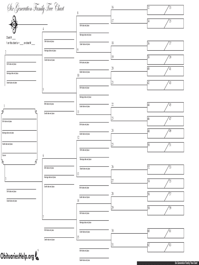 Free Fillable Family Tree Template - Fill Online ...