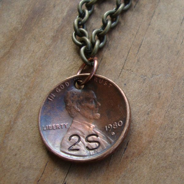 Love My Art Jewelry: Playing with pennies.....