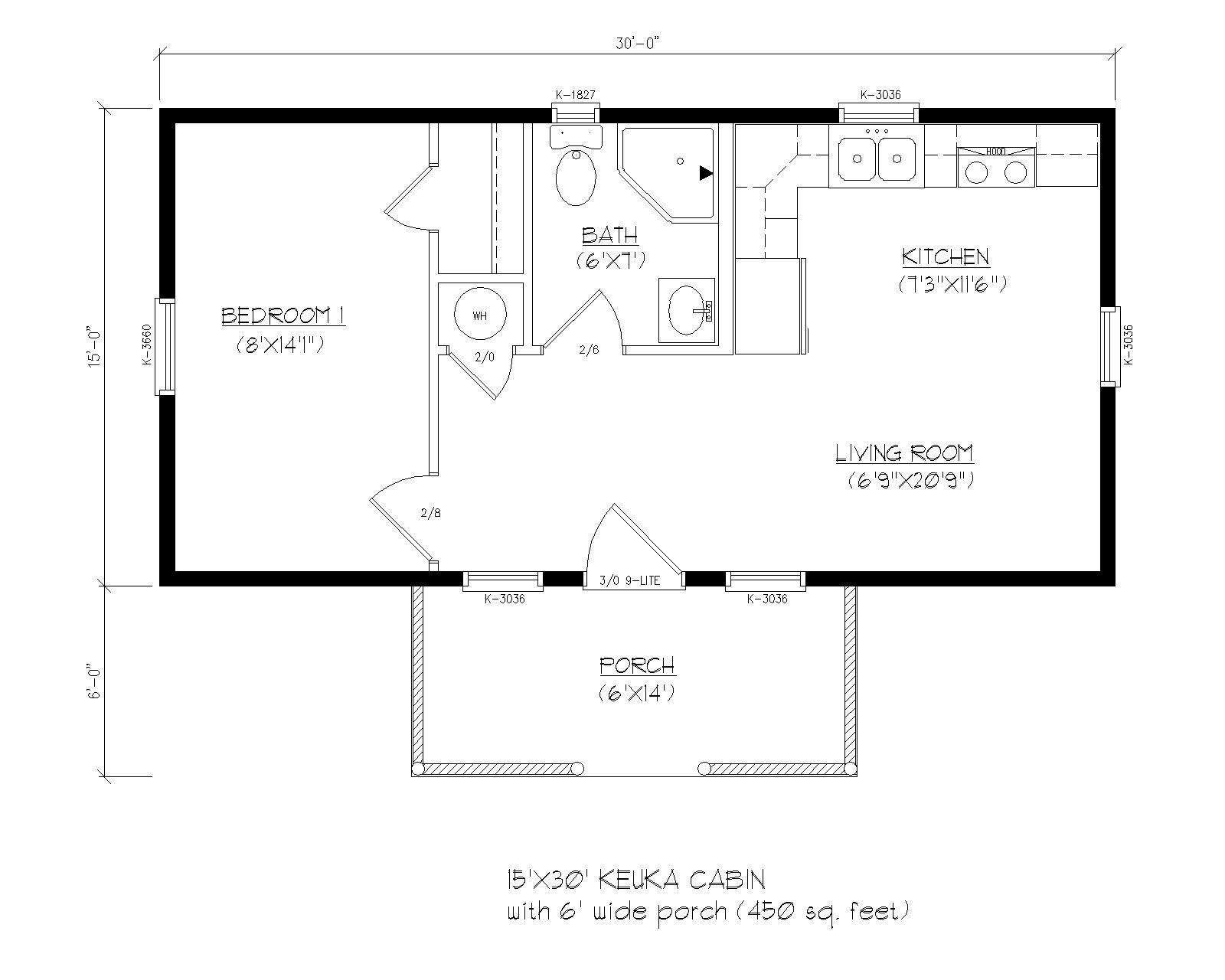 Riverwood Prefab Certified Modular Cabin In