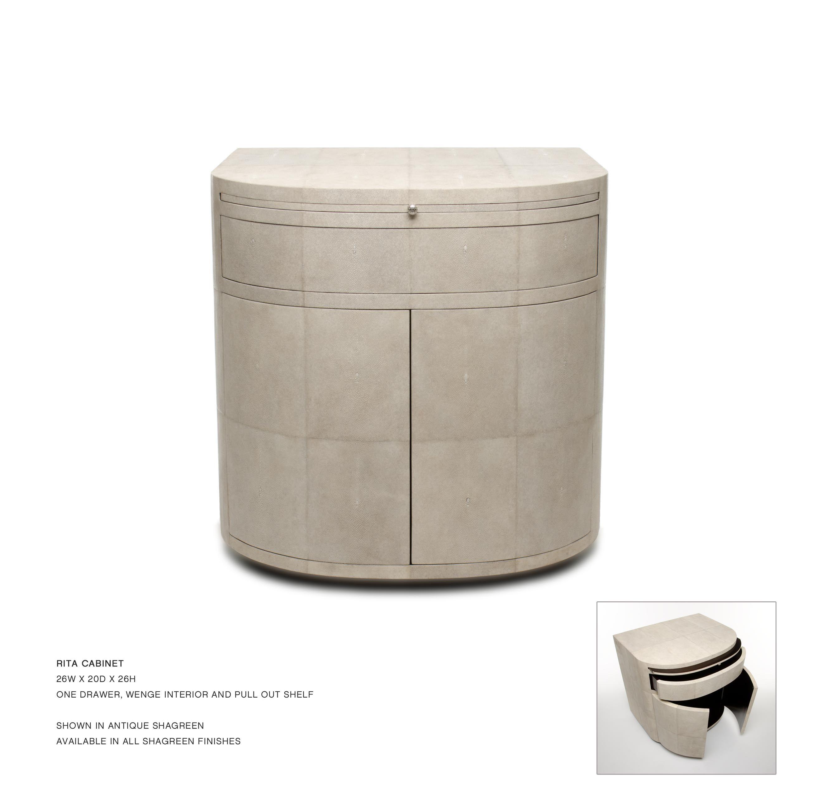 John lyle design rita cabinet the most perfect bedside for Ever design furniture