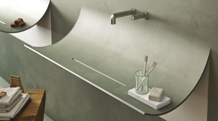 lavabo salle de bain de design innovant italien SKIN et ...