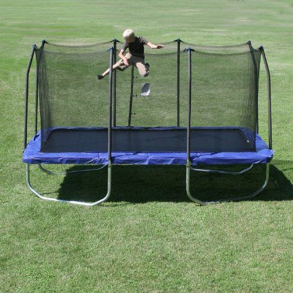 Skywalker Rectangle Trampoline with Enclosure, 15-Feet. Rating 4.5 ...