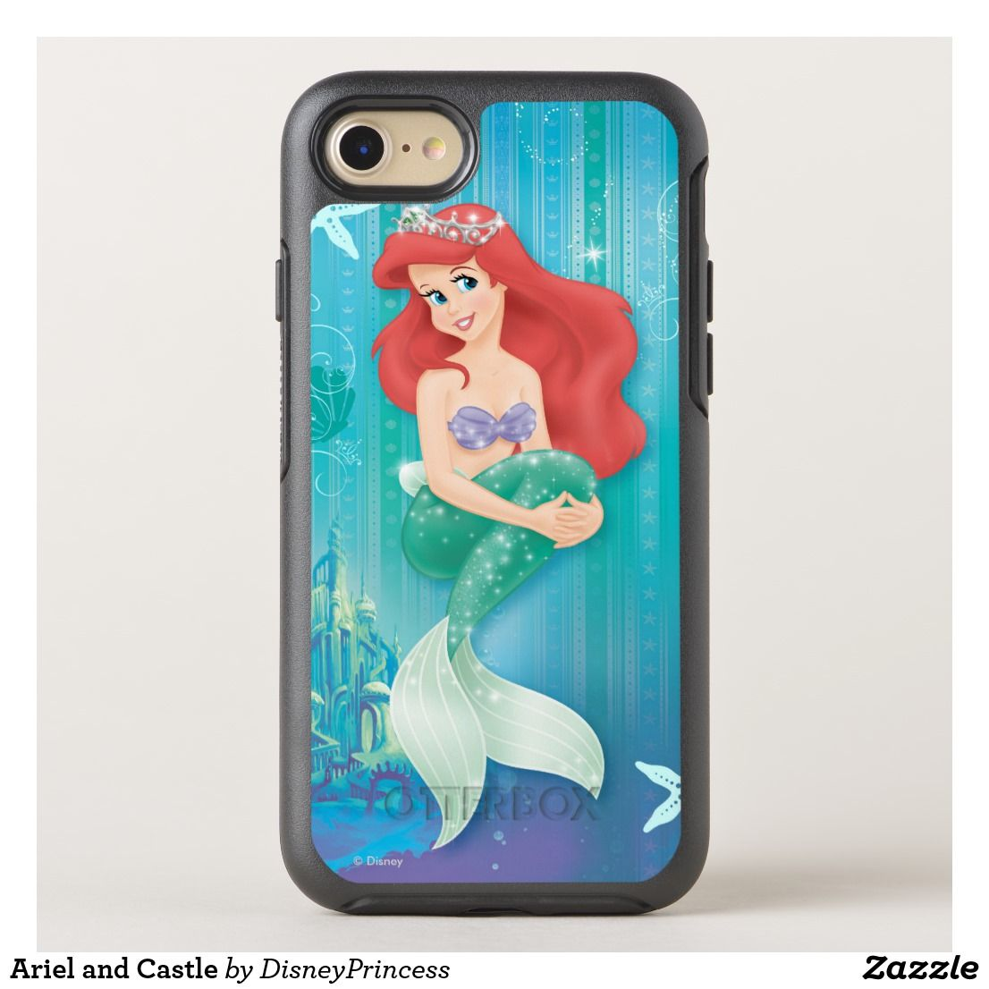 DISNEY THE LITTLE MERMAID ARIEL AND FRIENDS iphone case