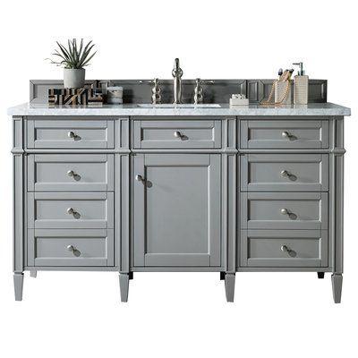 Best Darby Home Co Dussault 60 Single Bathroom Vanity Set Top 400 x 300