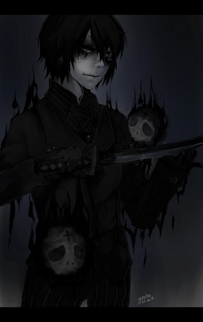 AT Kraven Krauss emo, scene, goth, gothic, darkness
