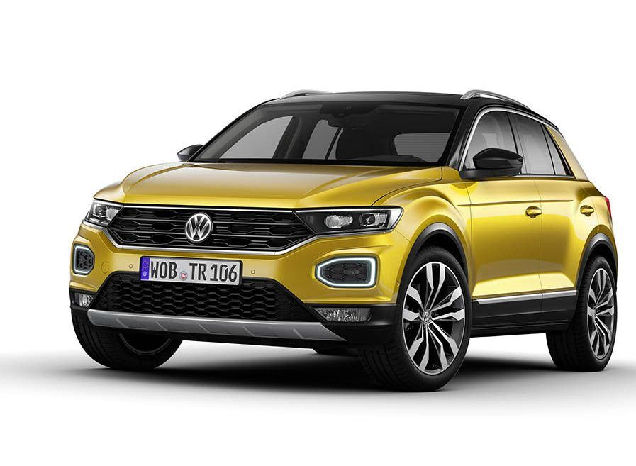 Volkswagen T Roc Debut Reveals A More Traditional Crossover Http Www Thetruthaboutcars Com 2017 08 T Roc Reve Volkswagen Volkswagen New Car New Upcoming Cars