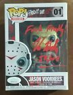 Kane Hodder Authentic Signed Jason Voorhees Funko POP Inscription JSA WPP691007 #FunkoPOP #jasonvoorhees