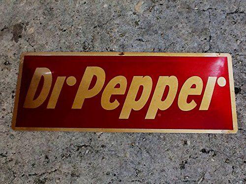 Pepper Retro Soda Cola Sign Bar Store Kitchen Cottage Farm A057 TIN SIGN Dr