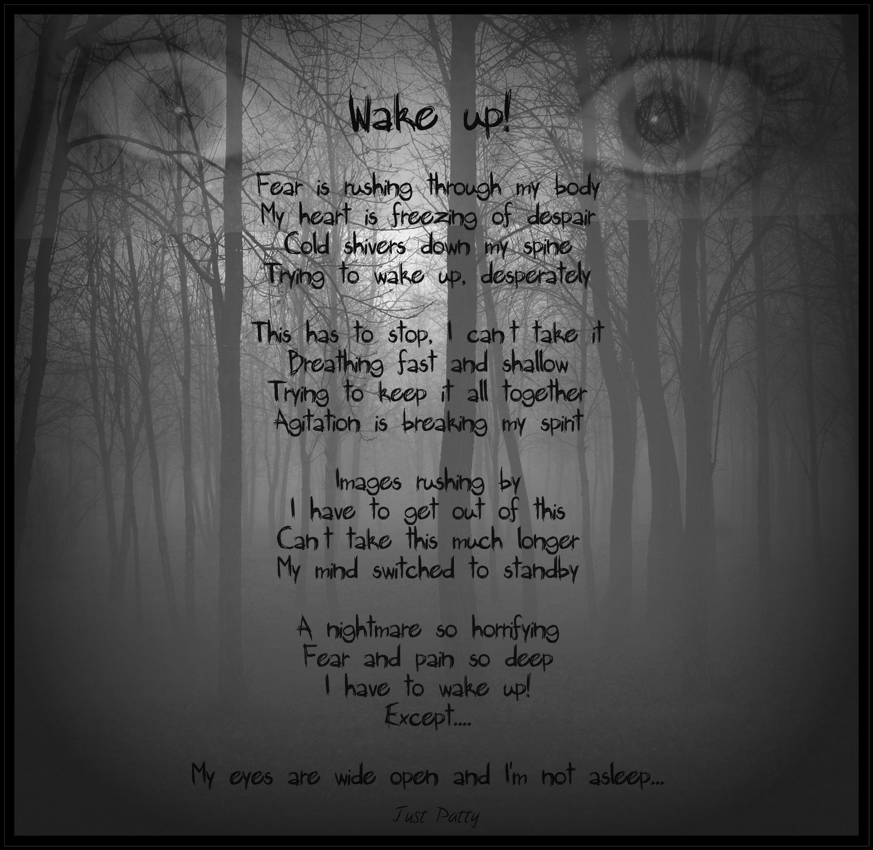 Short Creepy Poems – Festival Collections