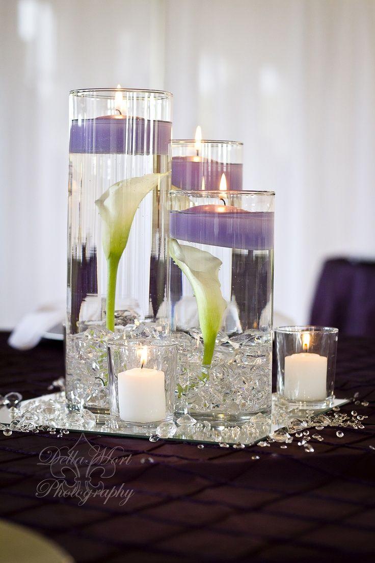 White calla lily centerpiece wedding ideas