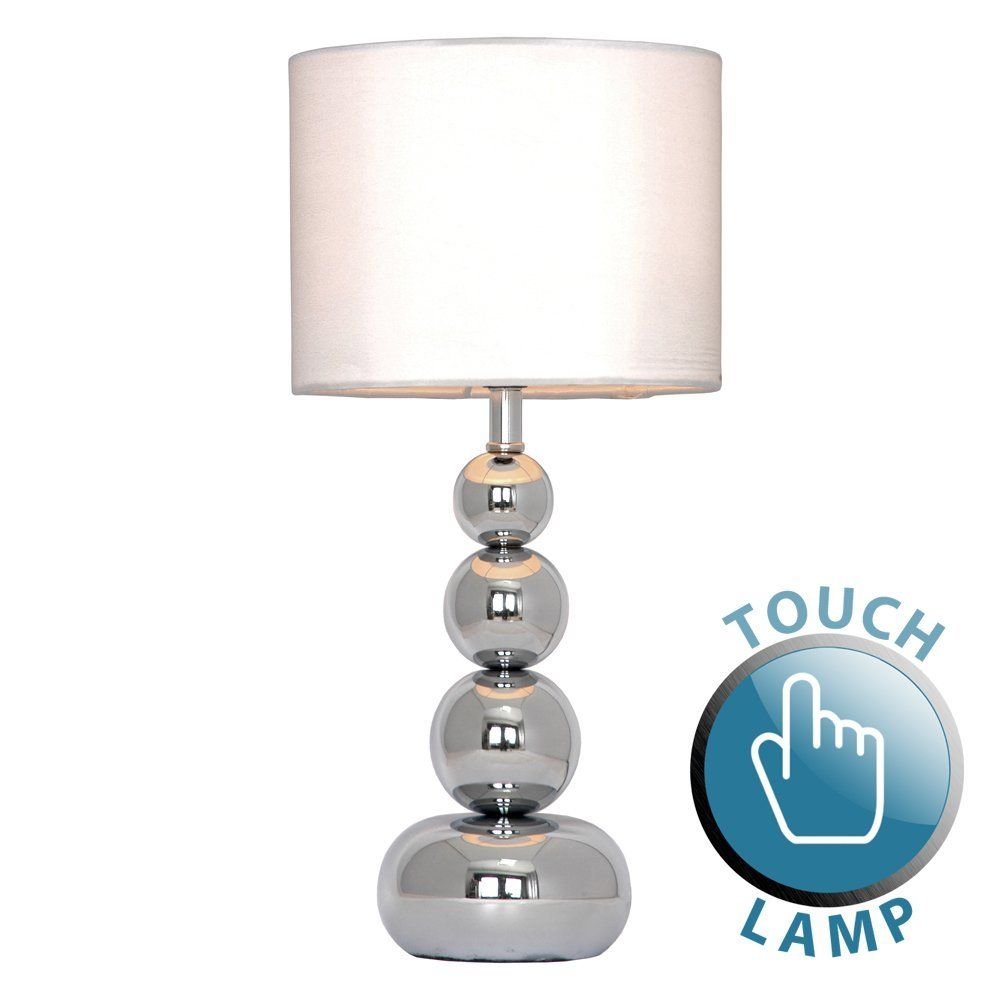 Minisun lampe de table chevet bureau variateur touch tactile contemporain moderne