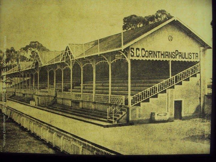 Local onde se localizava a Fazendinha, que se tornou o Parque São Jorge e recebeu o primeiro estádio do Corinthians. Fotografia publicada na Revista Corinthians de 1931.