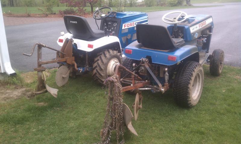 Park Art|My WordPress Blog_Garden Tractor With Rear Pto