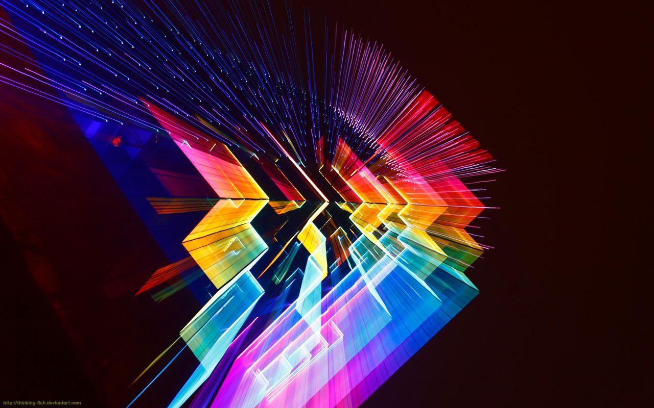 Cbd75 1280x800 Wallpaper Abstract Retro Art Colorful Wallpaper