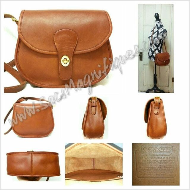 Sacs Magnifiques Restoration Of Fine Vintage Handbags Coach Nyc Saddlery Bag