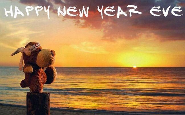 happy new year beach wishes 2018