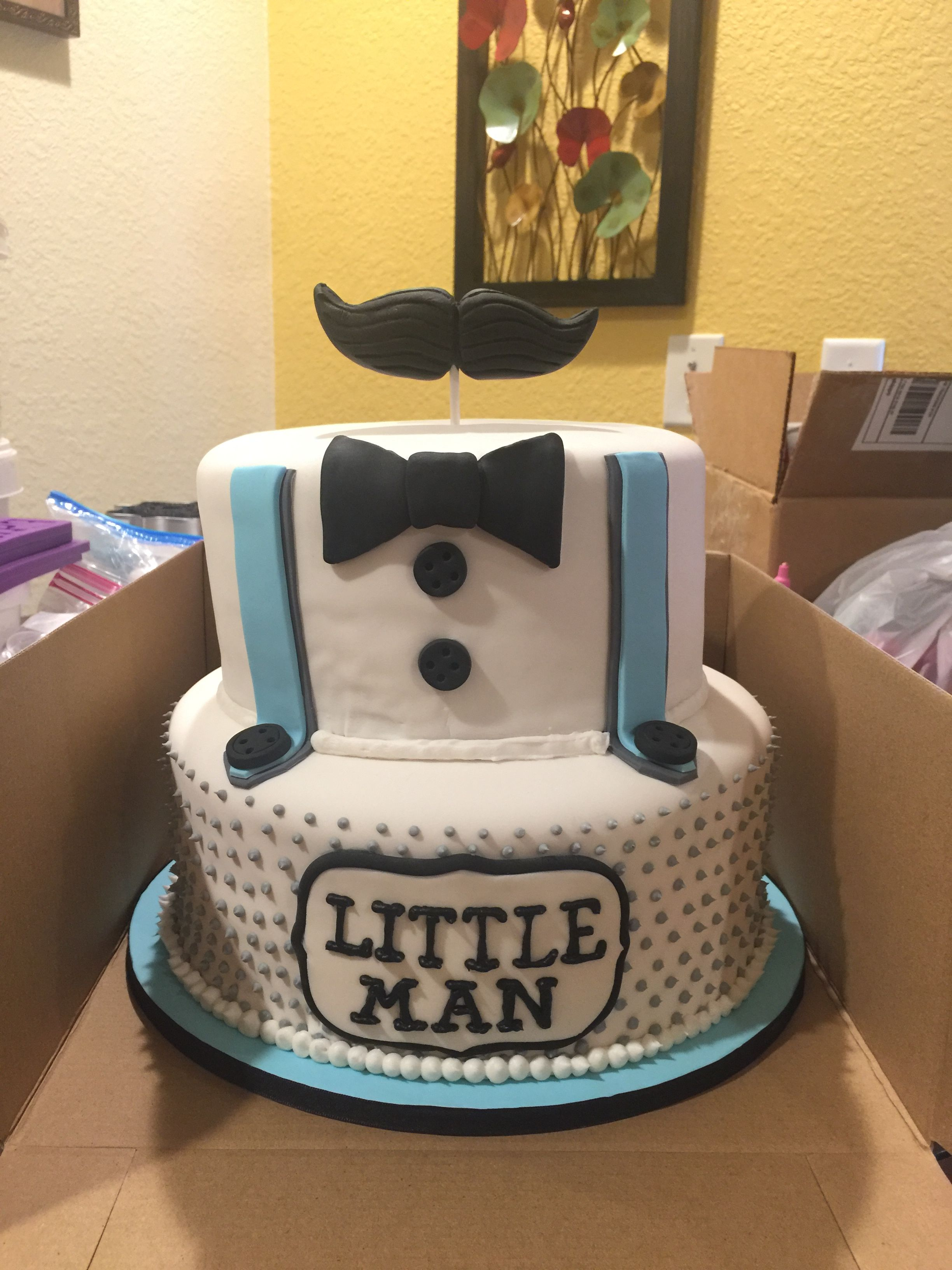 Little man baby shower cake baby shower cakes