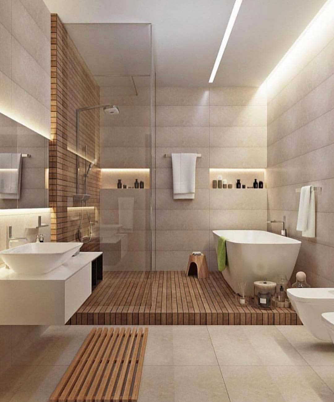 What Do You Think About This Bathroom Design Follow Studioantonini Dm Us To Connec Modern Bathroom Design Bathroom Interior Design Small Master Bathroom