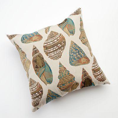 Seashells Decorative Pillow Kohl's Family Room Redo Pinterest Adorable Decorative Pillows Kohls